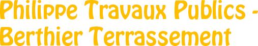 Berthier Terrassement SARL, entreprise de travaux publics dans le Morbihan et en Ille-et-Vilaine